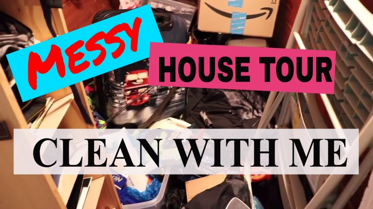 Messy House Tour | Clean with Me | Cleaning Inspiration