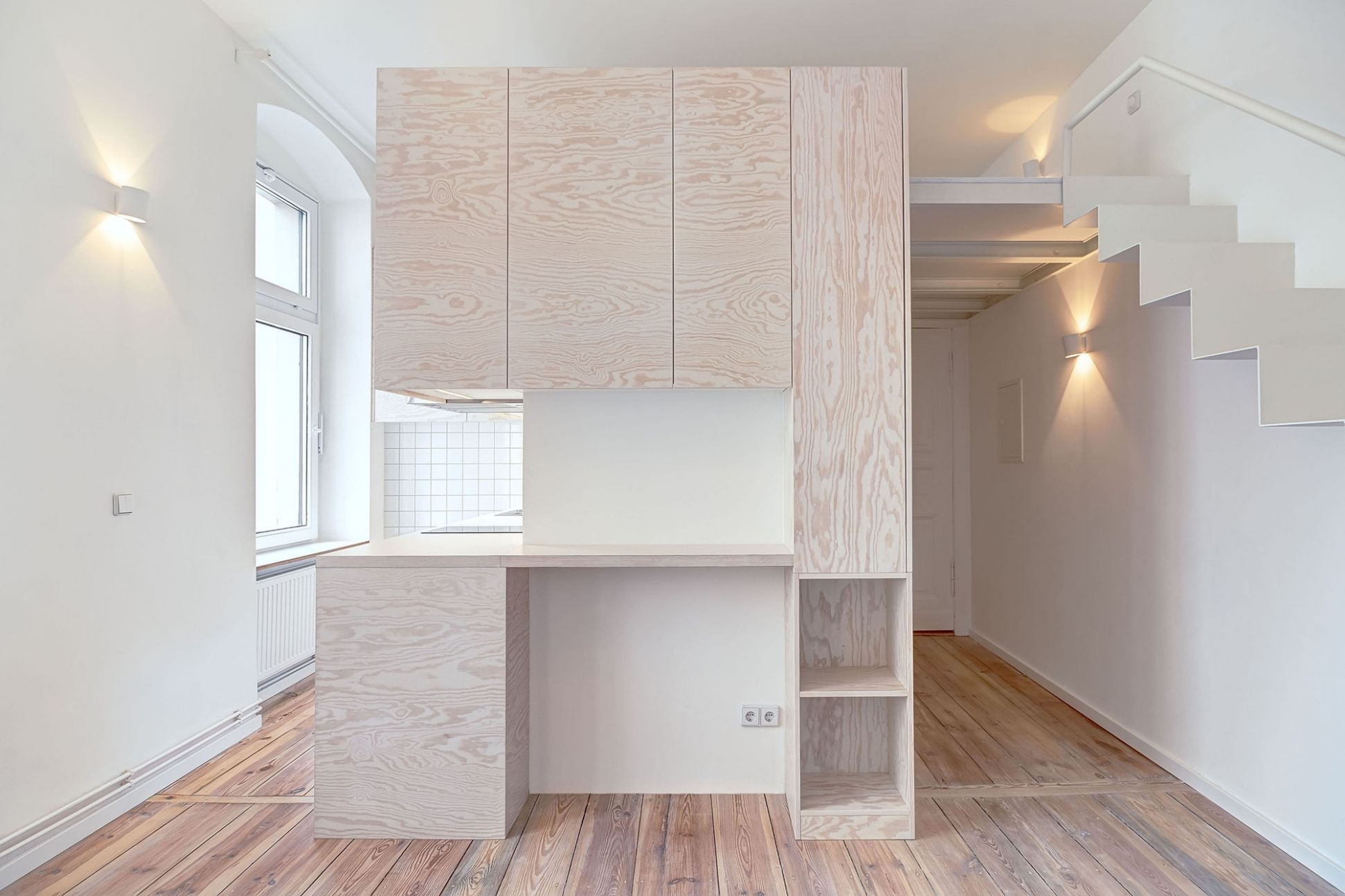 Micro-apartment in Berlin / spamroom + johnpaulcoss | ArchDaily - apartment design archdaily