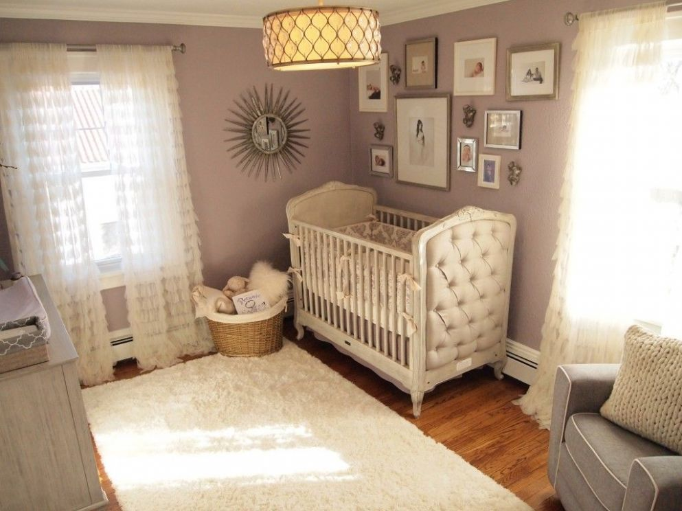 Mila's Purple/Gray Modern Glamour (With images) | Purple nursery ...