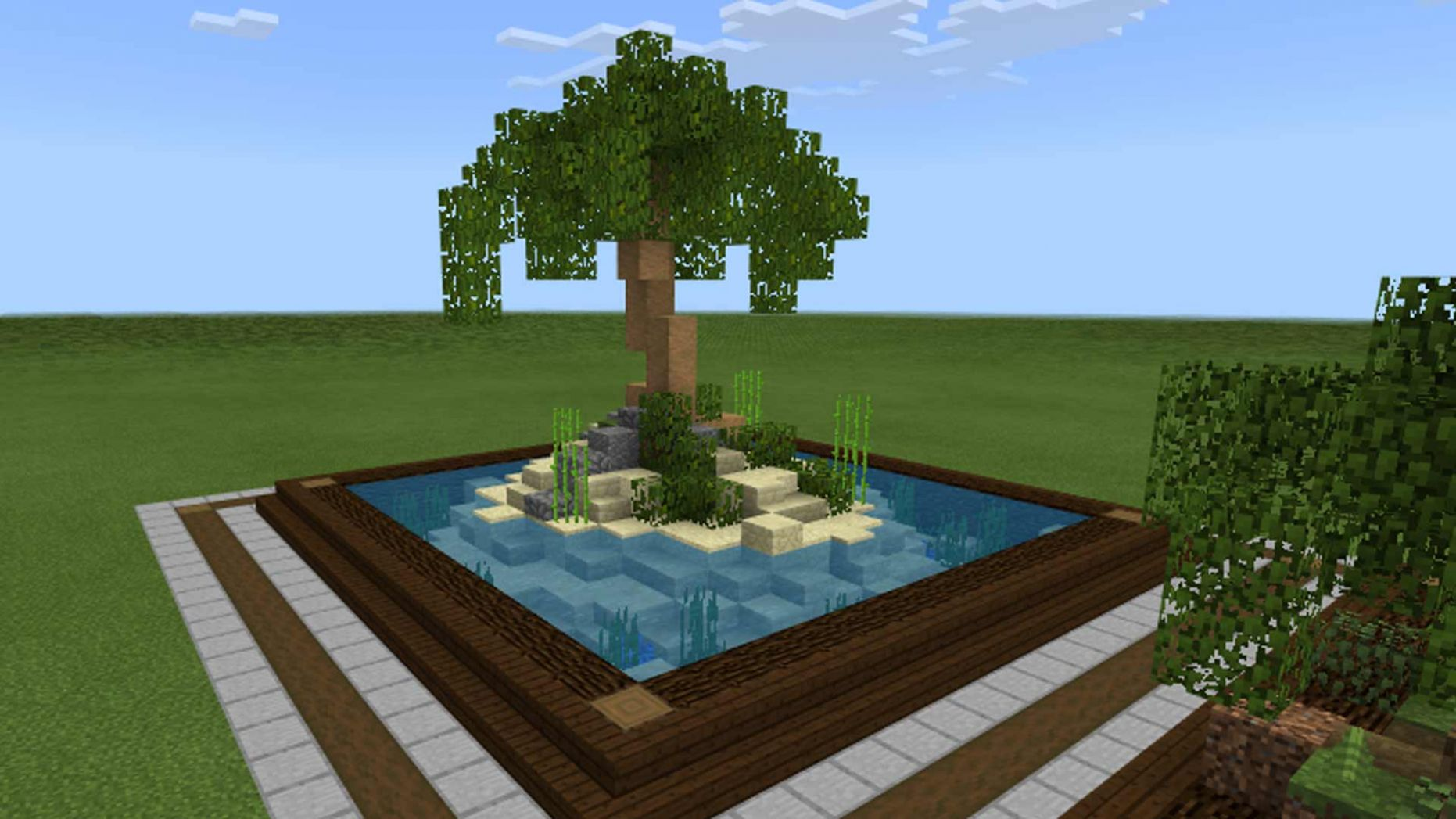 Minecraft Landscaping Ideas as a Build Style - Gamerheadquarters - minecraft garden ideas xbox