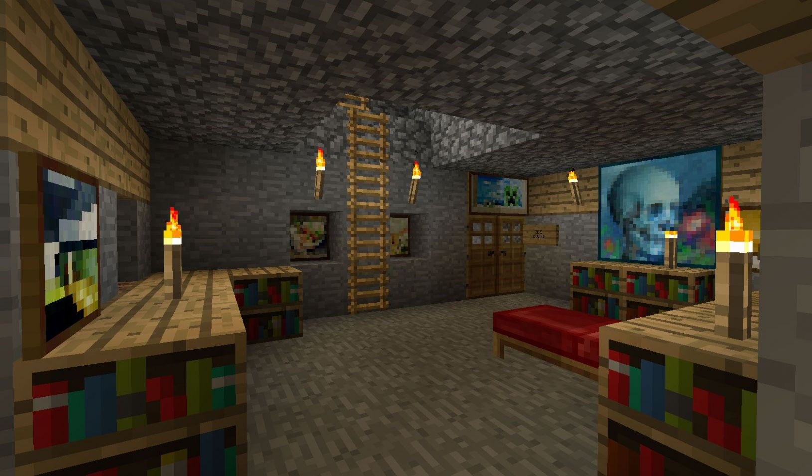 minecraft room ideas pocket edition | Minecraft bedroom decor ..