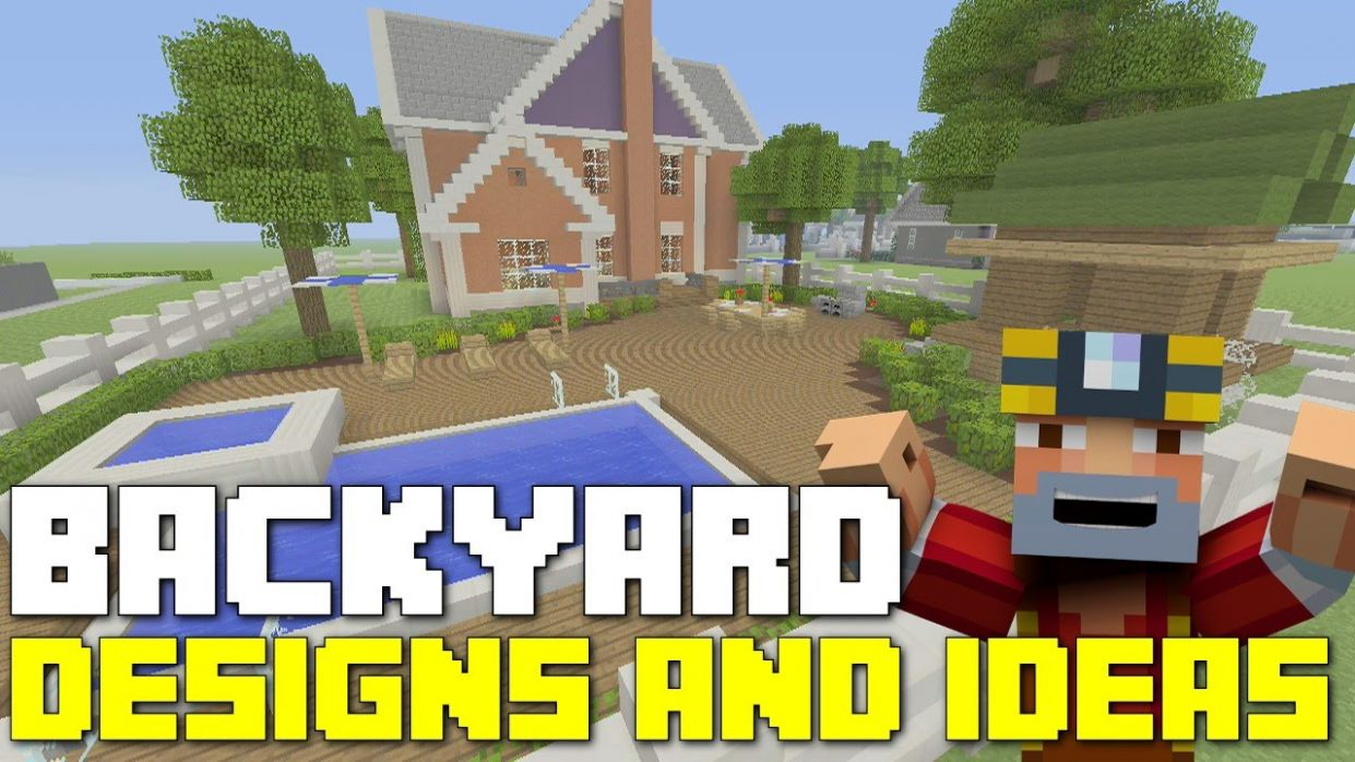 Minecraft Xbox One: Backyard Landscaping - Designs and Ideas!