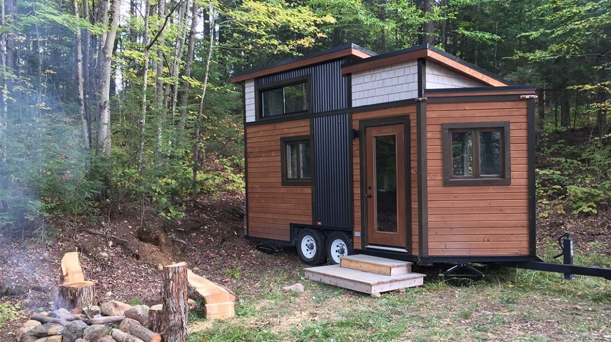 Mini 8ft Tiny House with All the Comforts of Home – Video Tour ..