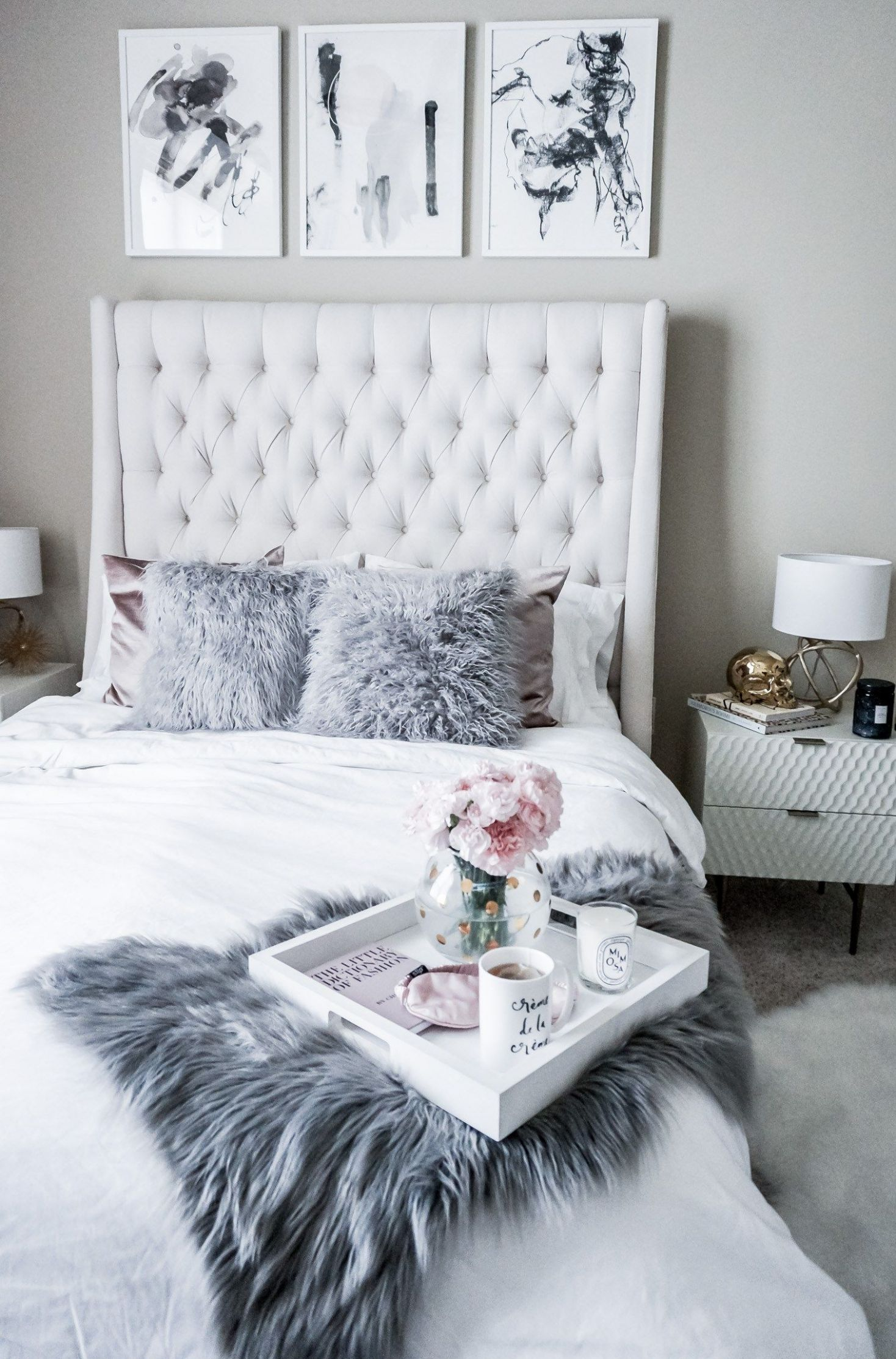 Minted (With images) | White bedroom design, Home decor bedroom - diy home decor bedroom