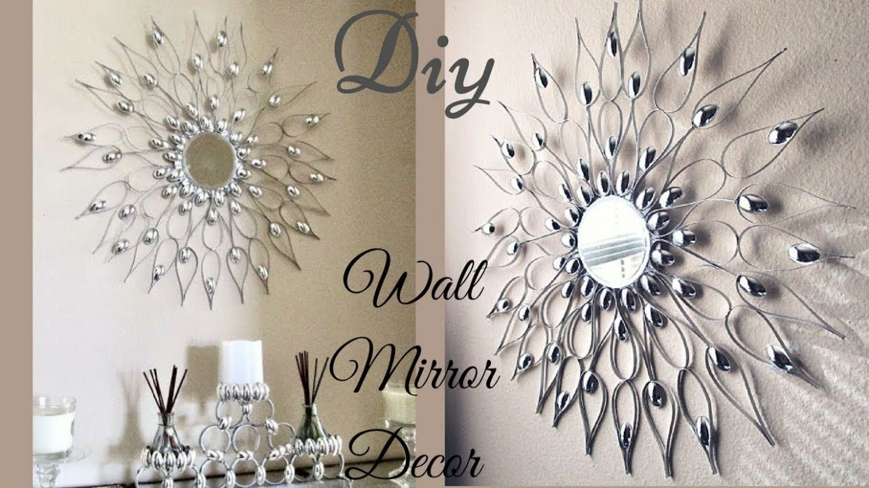 mirror Wall Decor | In Decors - wall decoration ideas silver