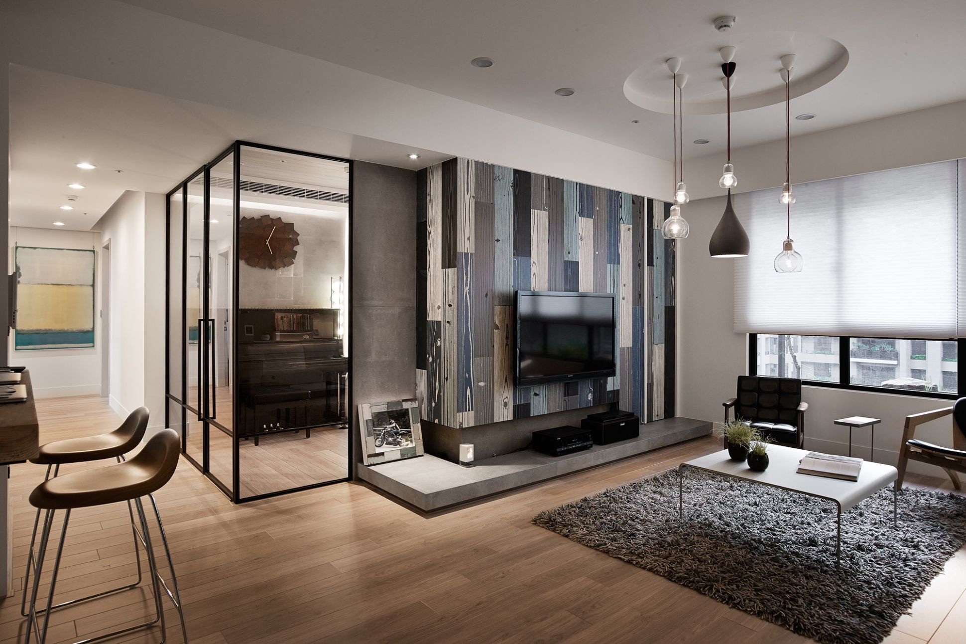 Modern Apartment In European Style In Taiwan From Fertility Design ...