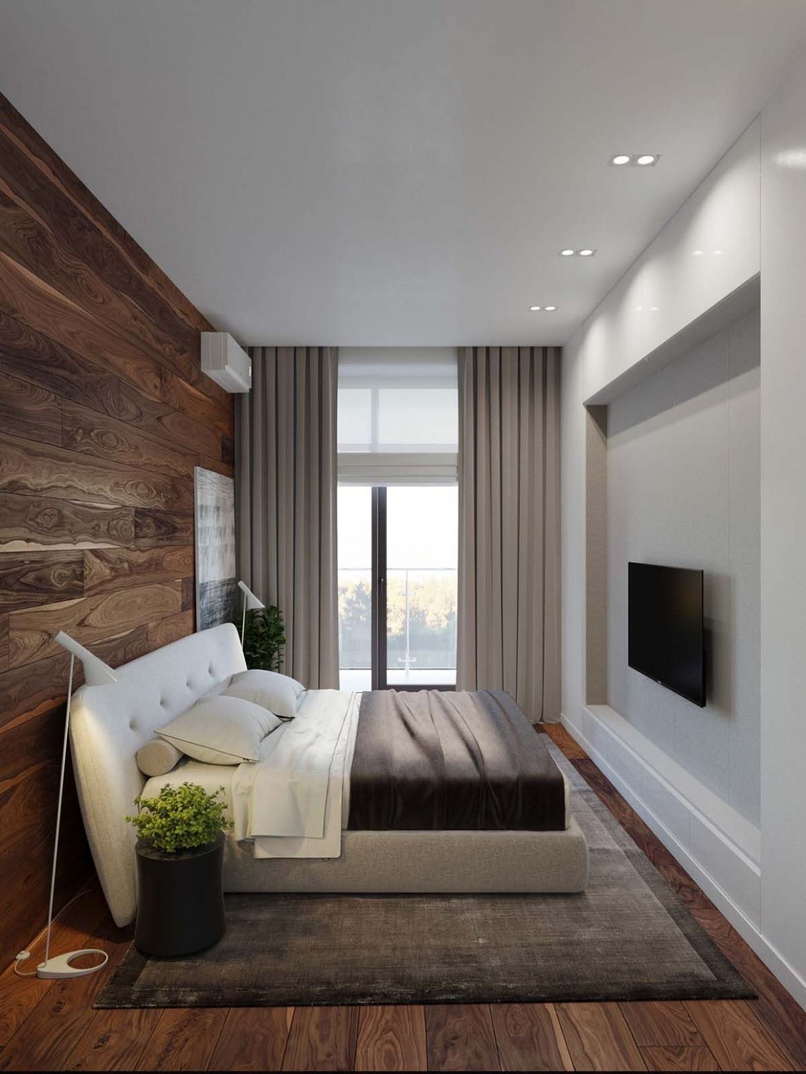 Modern bachelor pad with dramatic design features in Kiev | Modern ...