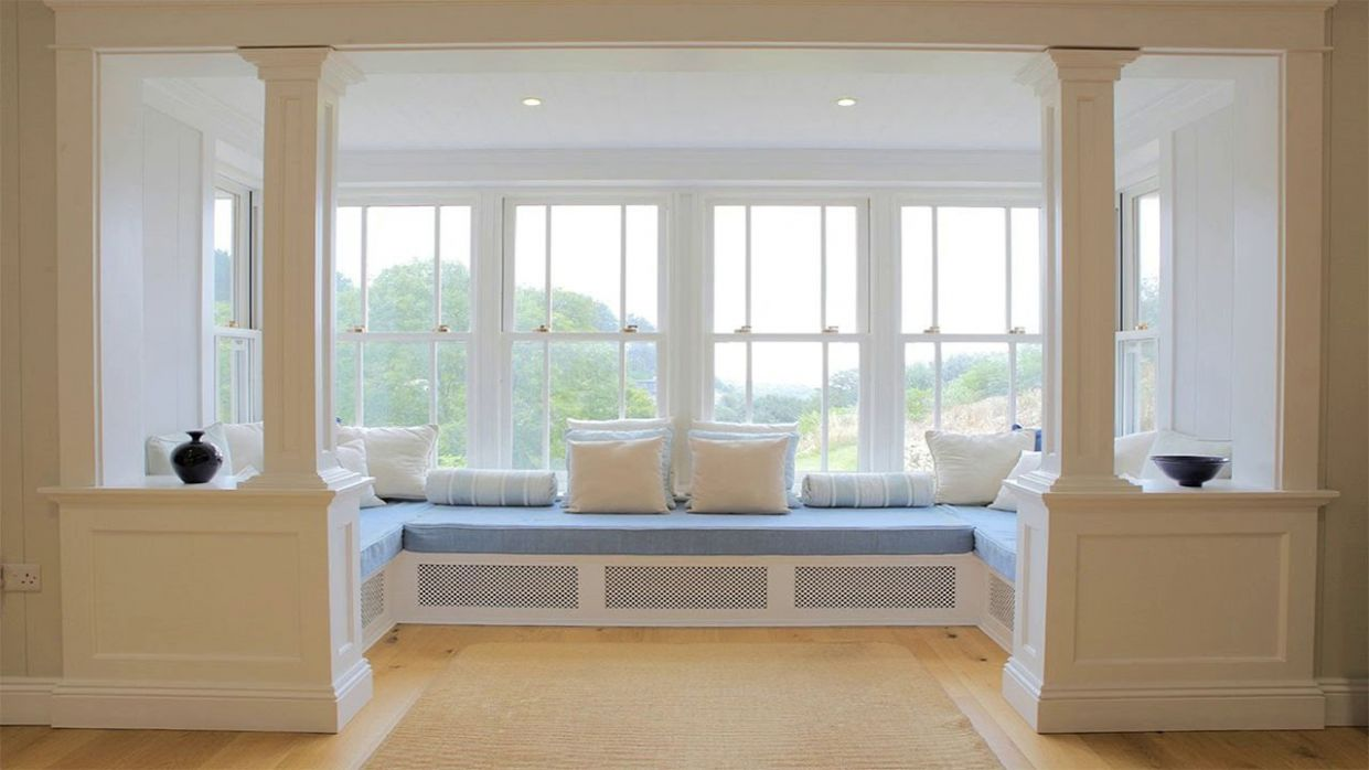 Modern Bay Windows Idea for Living room - Room Ideas - window ideas for bay windows