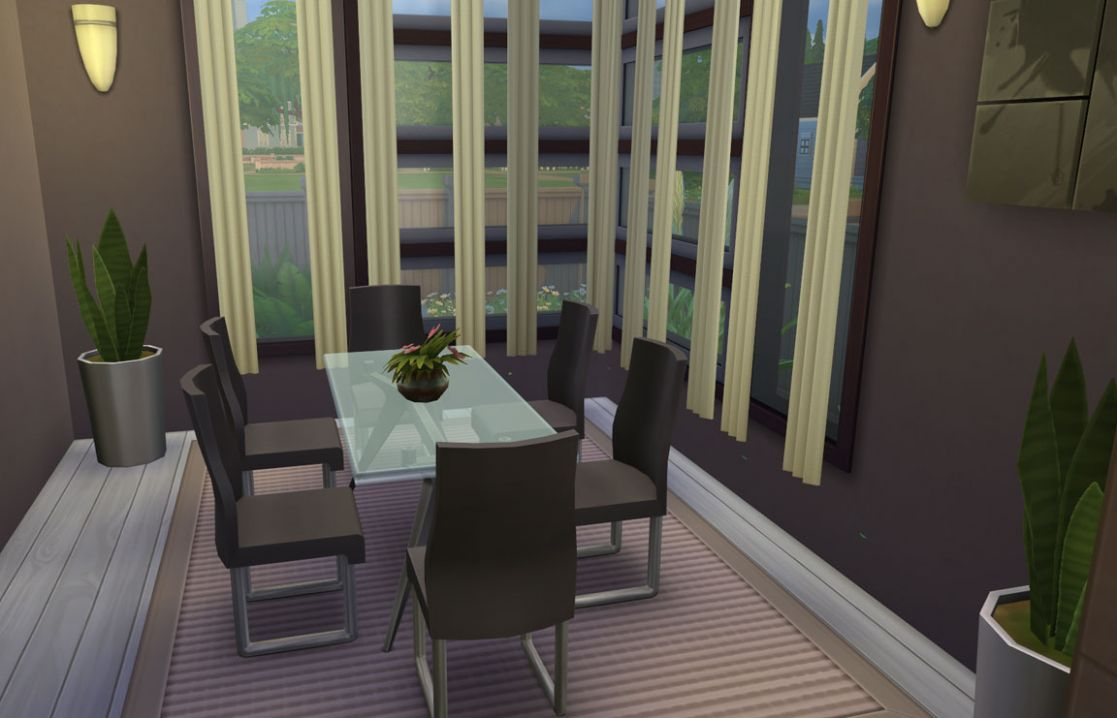 Modern Charm Dining Room - Sims Online - dining room ideas sims 4