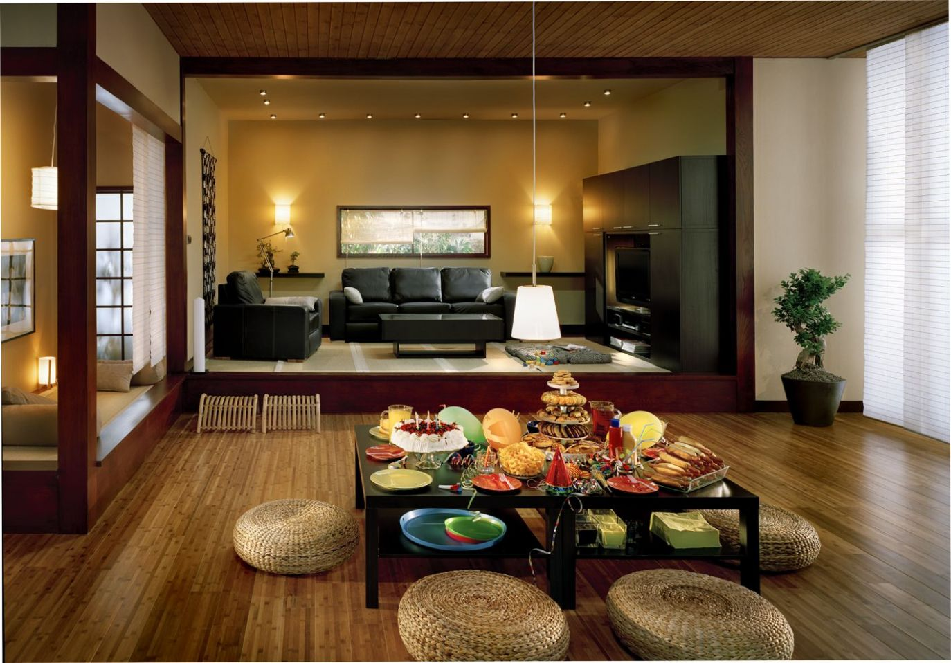 Modern day Living Room Decor Ideas (With images) | Japanese ..