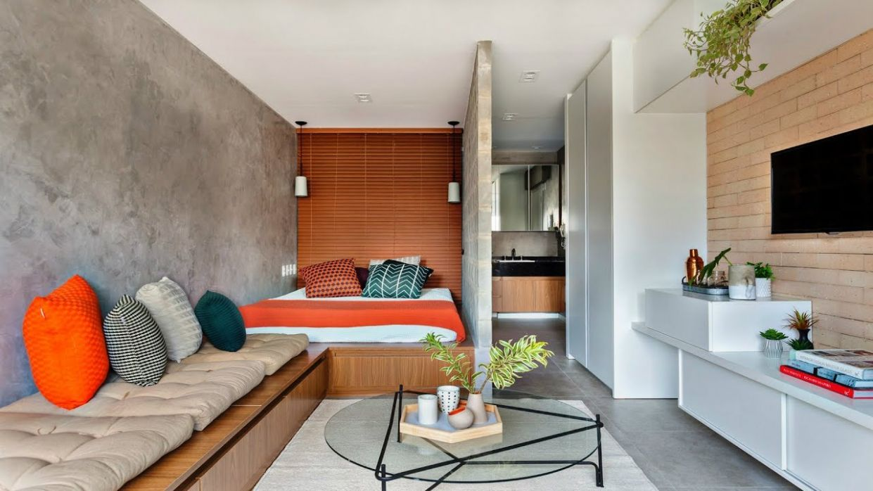 Modern Design small apartment / Small Flat - apartment design pictures