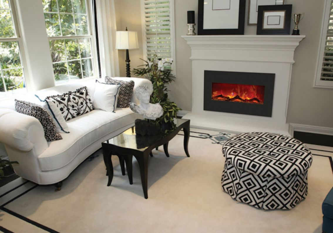Modern Electric Fireplaces to Warm Your Soul | Home Remodeling ...