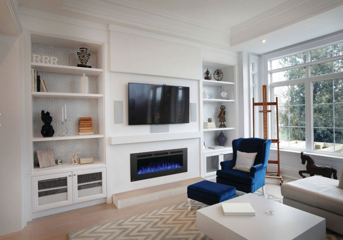 Modern Electric Fireplaces to Warm Your Soul   Home Remodeling ..