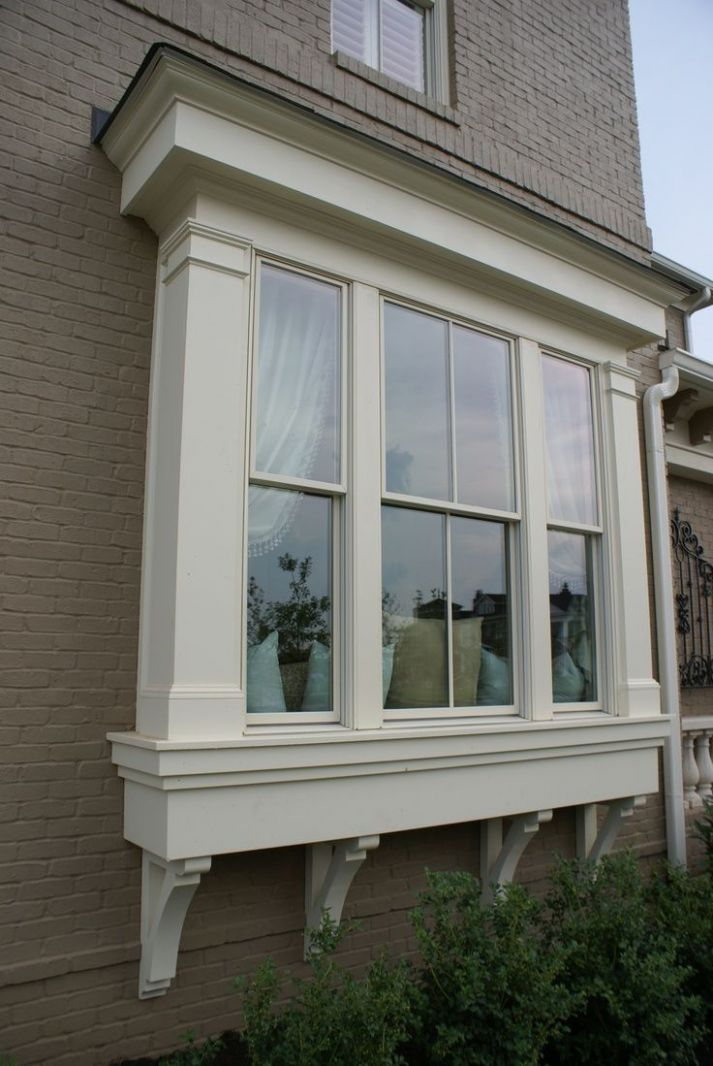 Modern Exterior Window Trim Ideas For Ideas and Remodel | Bay ..
