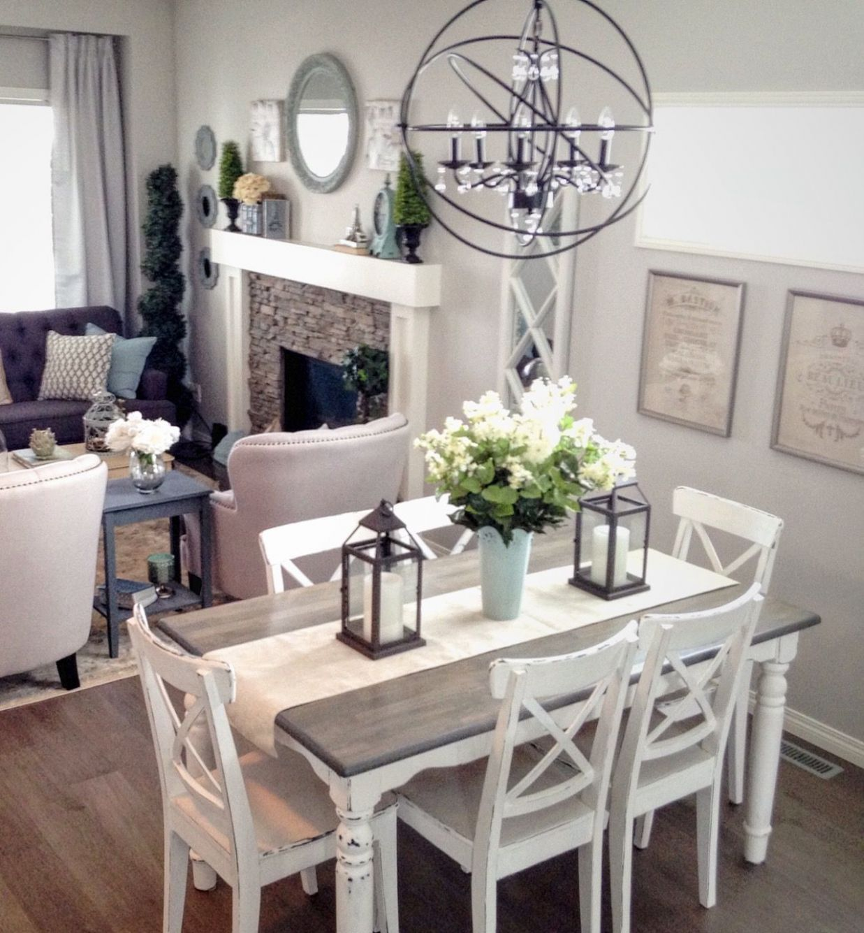 Modern French Country, neutral grey and white palette (With images ..