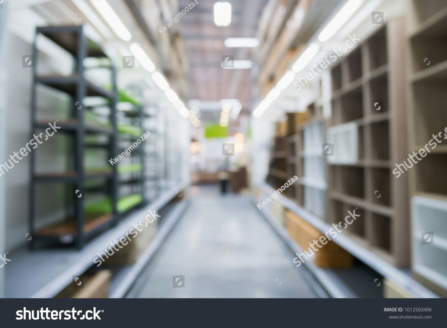 Modern Home Decor Supermarket Department Store Stock Photo (Edit ..