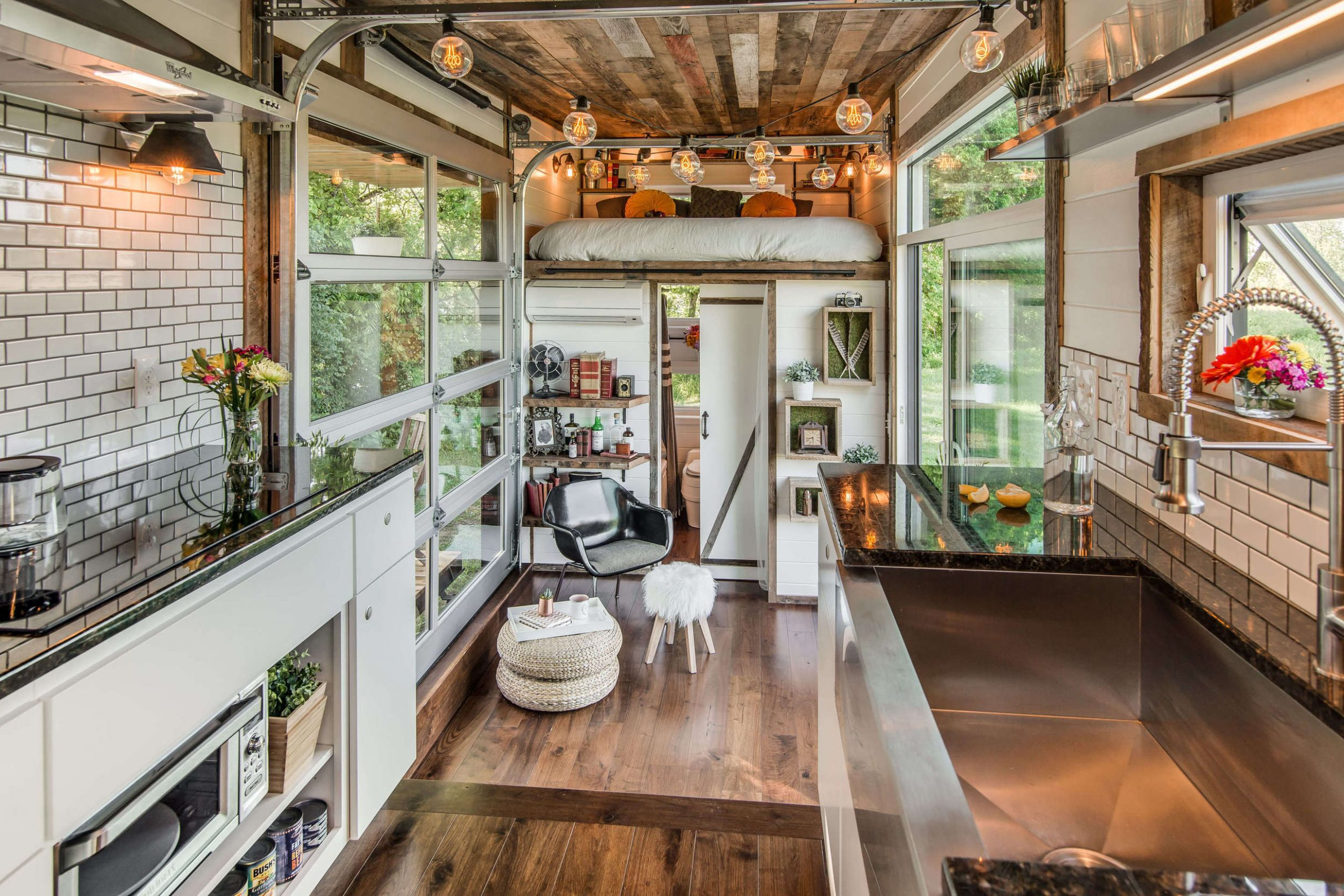 Modern Tiny Home [8x8] : RoomPorn - tiny house reddit