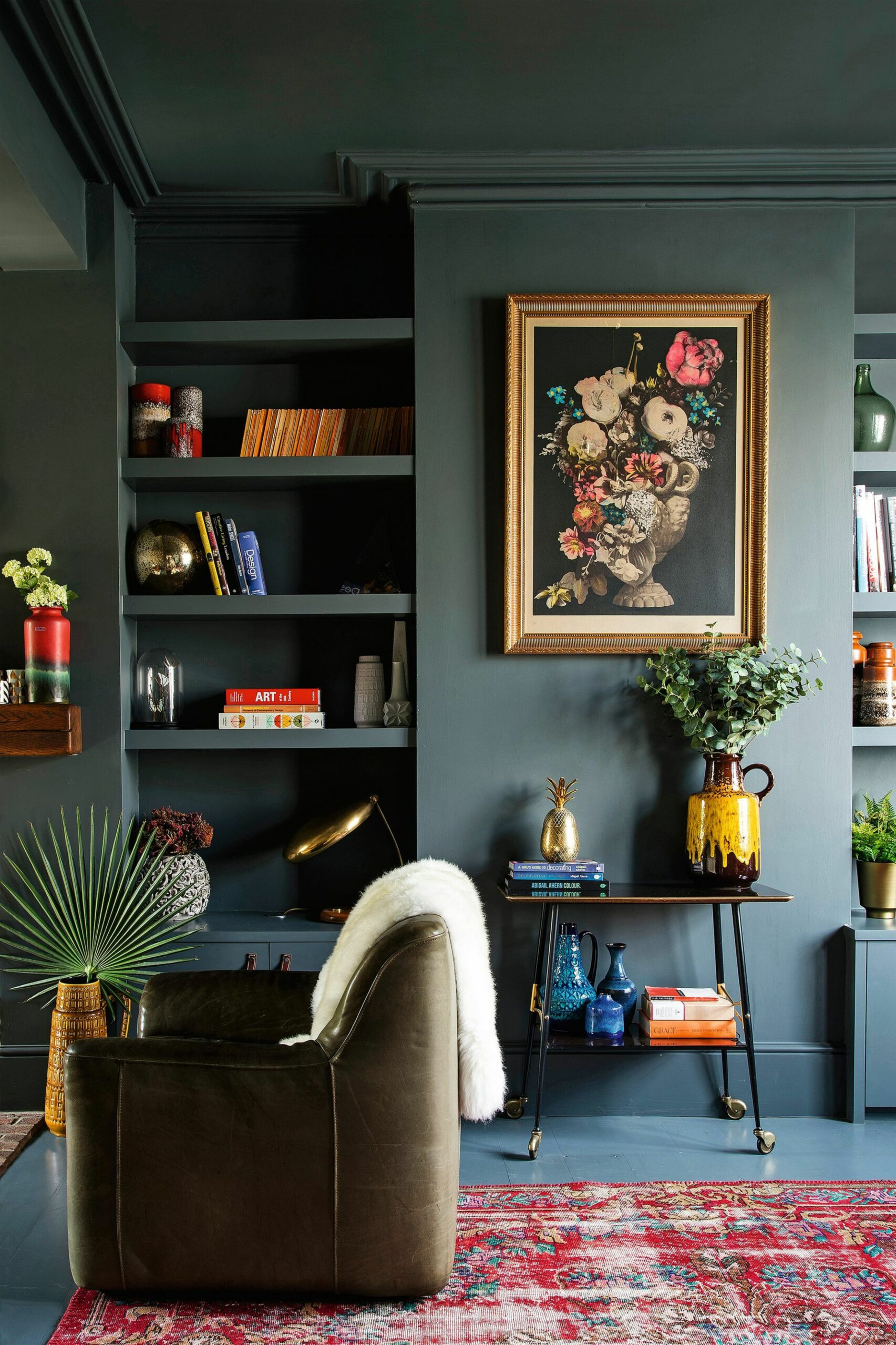 Modern Victorian Style: Wall Treatments and Art + Get the Look ..