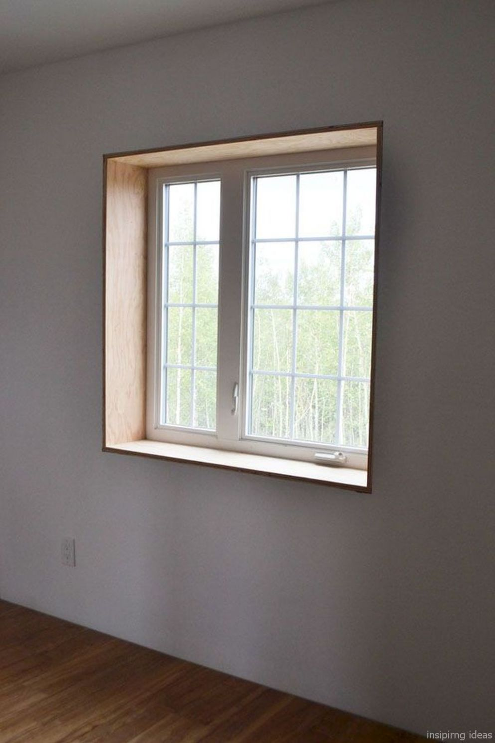 Modern Window Trim Design Ideas 8 (With images) | Interior window ..
