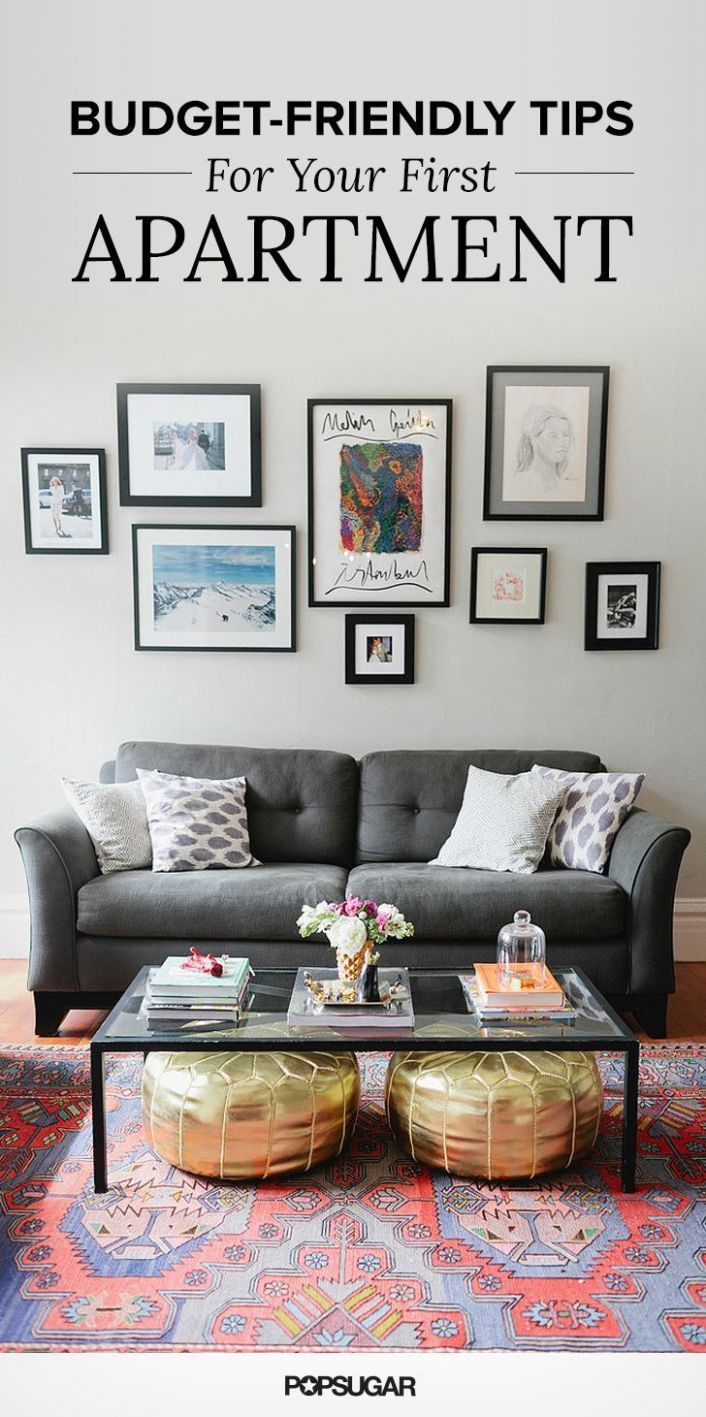 Money-Saving Tips For Decorating Your First Apartment | First ..
