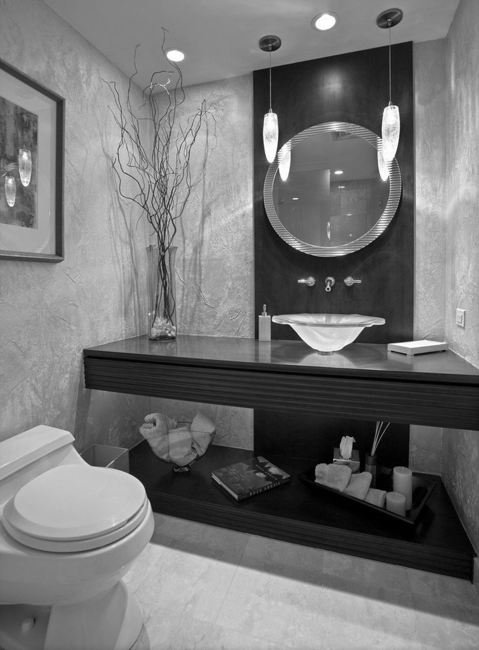 Most Amazing Black White And Silver Bathroom Ideas IJ12ds (With ...