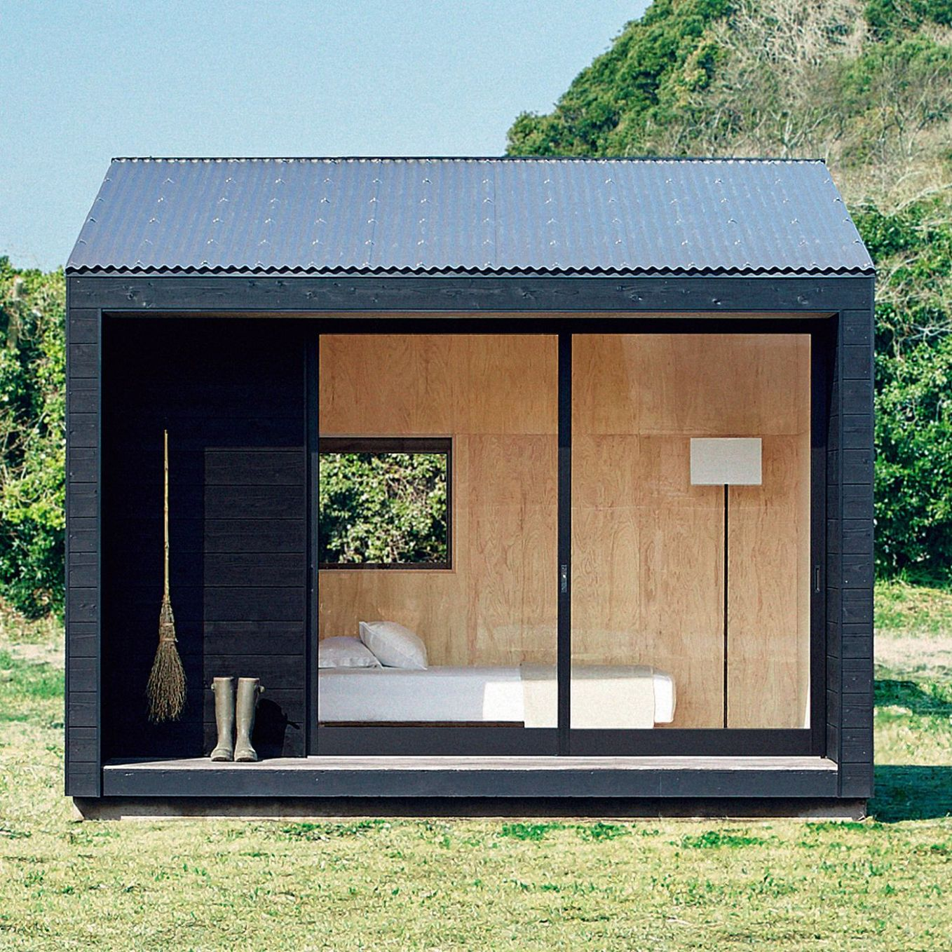 Muji Hut tiny house is now on sale in Japan for $11K - Curbed - tiny house japan