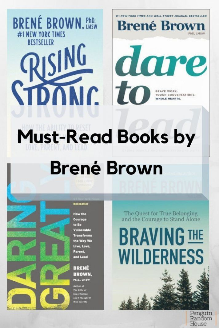 Must-Read Books by Brené Brown (With images) | Books to read ..