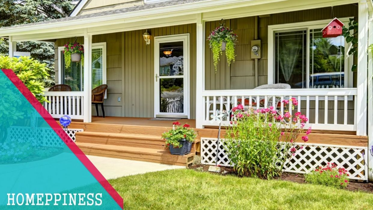 MUST SEE !!! 11+ Simple Front Porch Design Ideas - HOMEPPINESS - front porch designs pictures