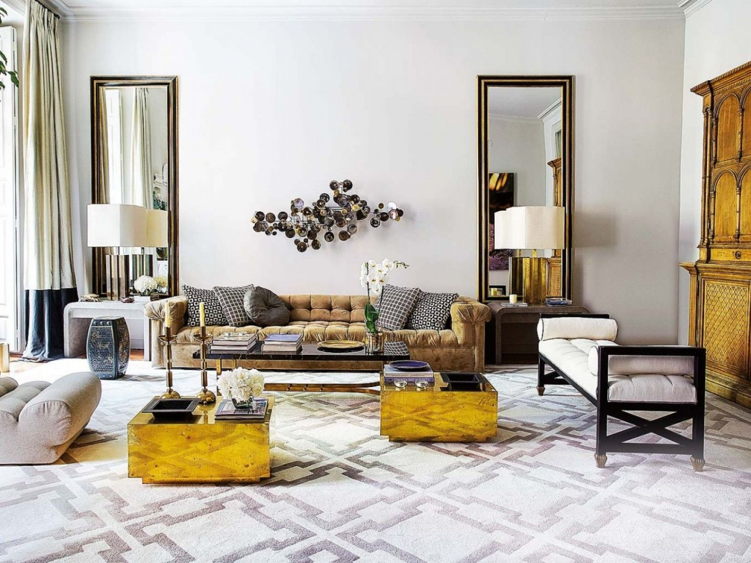 Mustard Living Room Ideas: Grey And Mustard Living Room Ideas ...