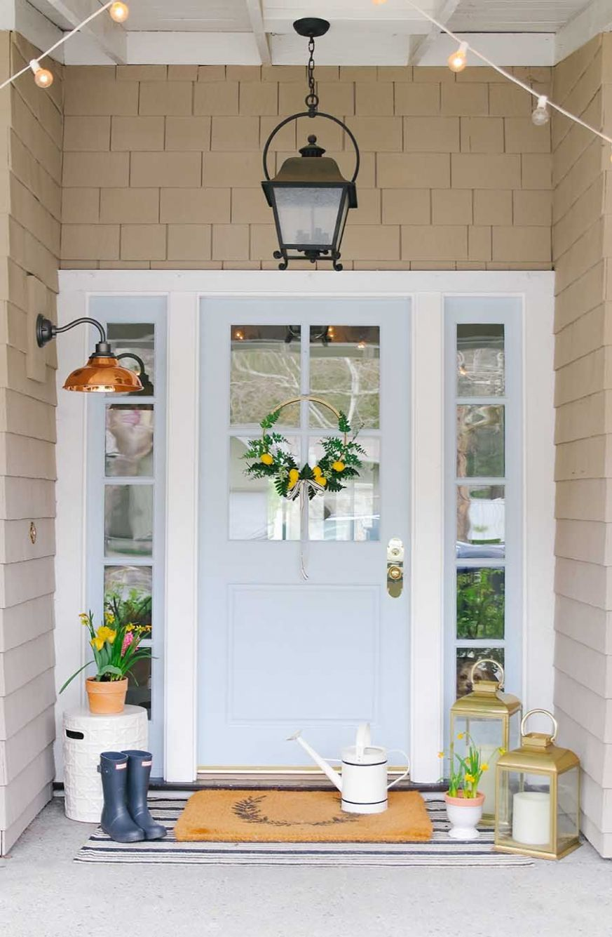 My Simple but Stylish Front Porch for Spring (With images ..