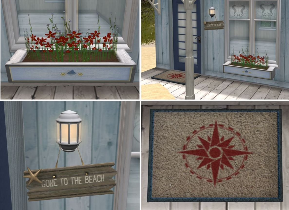 Nautical porch decor. Love the door mat (With images) | Patio wall ..