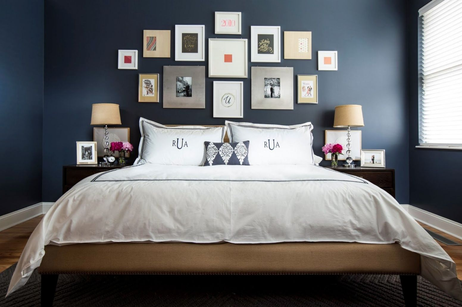 Navy & Dark Blue Bedroom Design Ideas & Pictures (With images ..