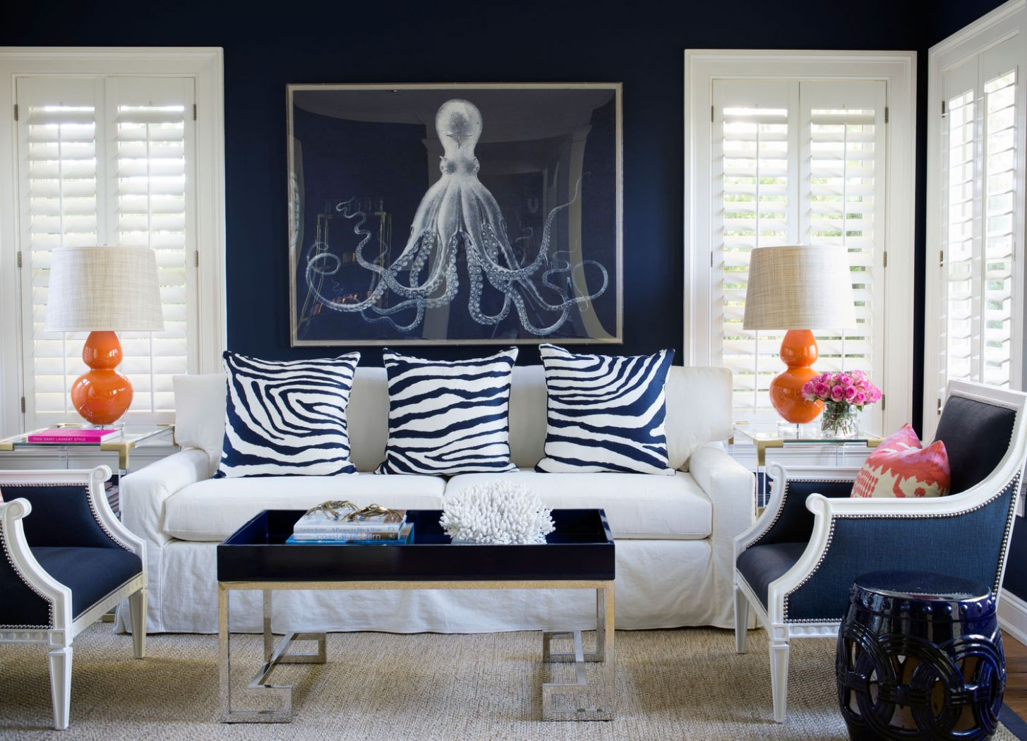 Navy Blue Living Room Ideas – Adorable Home - living room ideas in blue