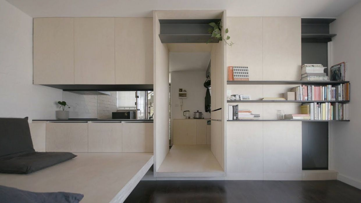 NEVER TOO SMALL ep.9 Micro Apartment Design George - YouTube (mit ..