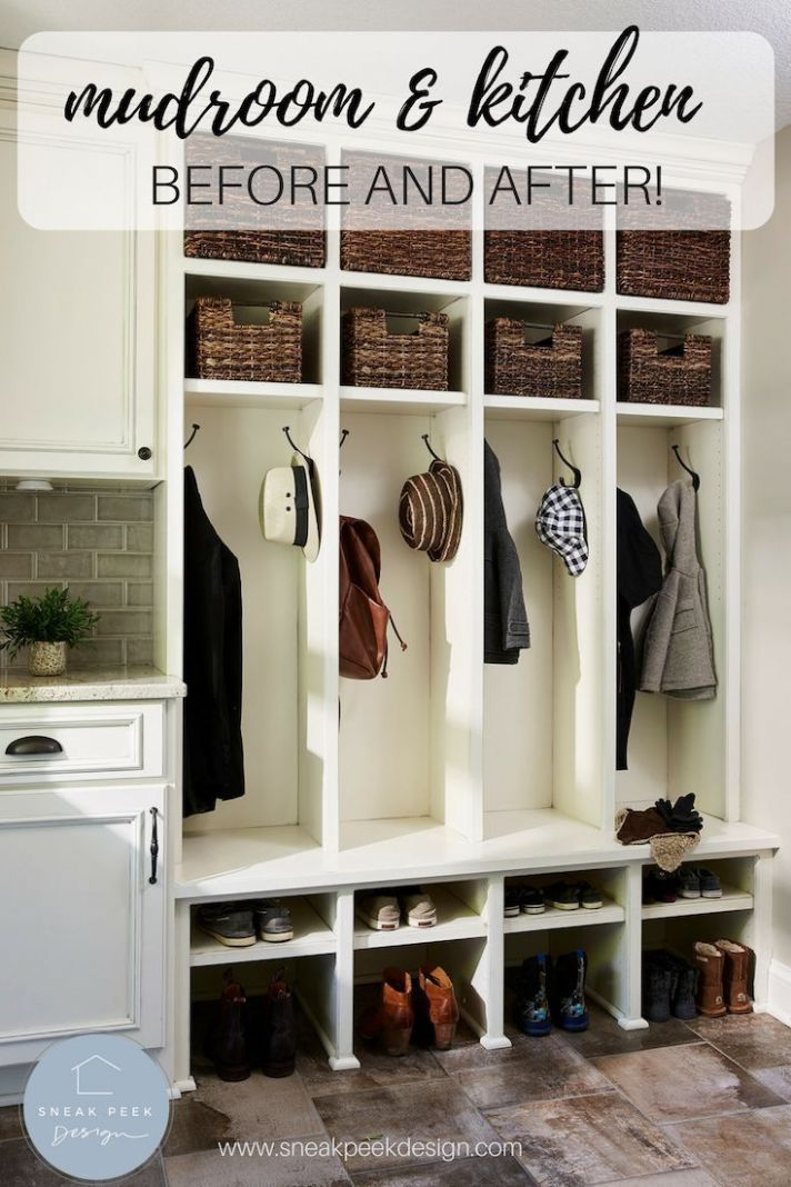 New Home Addition Project Reveal: Prior Lake | Mud room storage ..