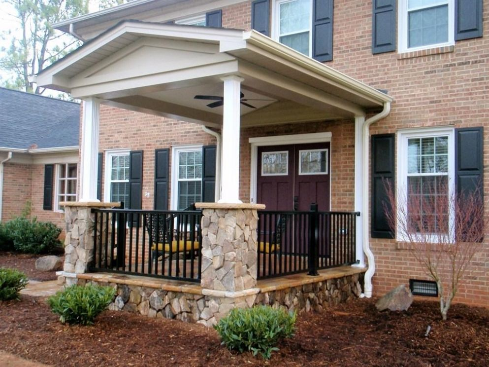 New House Front Porch Design Inspiration For Small Gallery Also ...