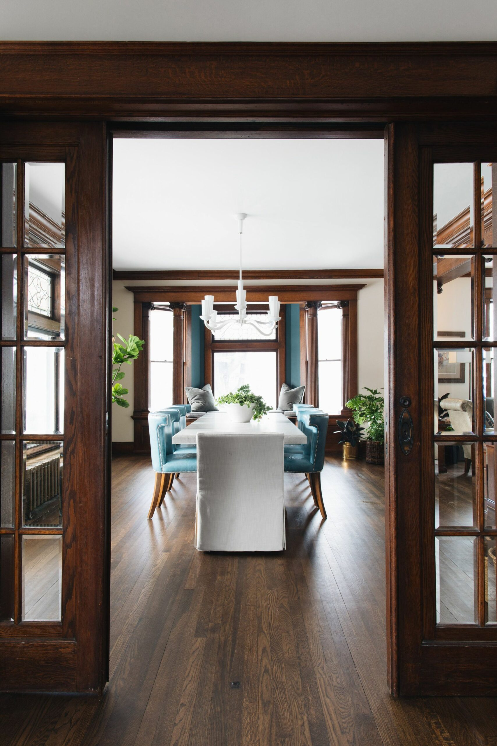 New house image by Amanda Hutchings O'Kelly in 8 | Dining room ...