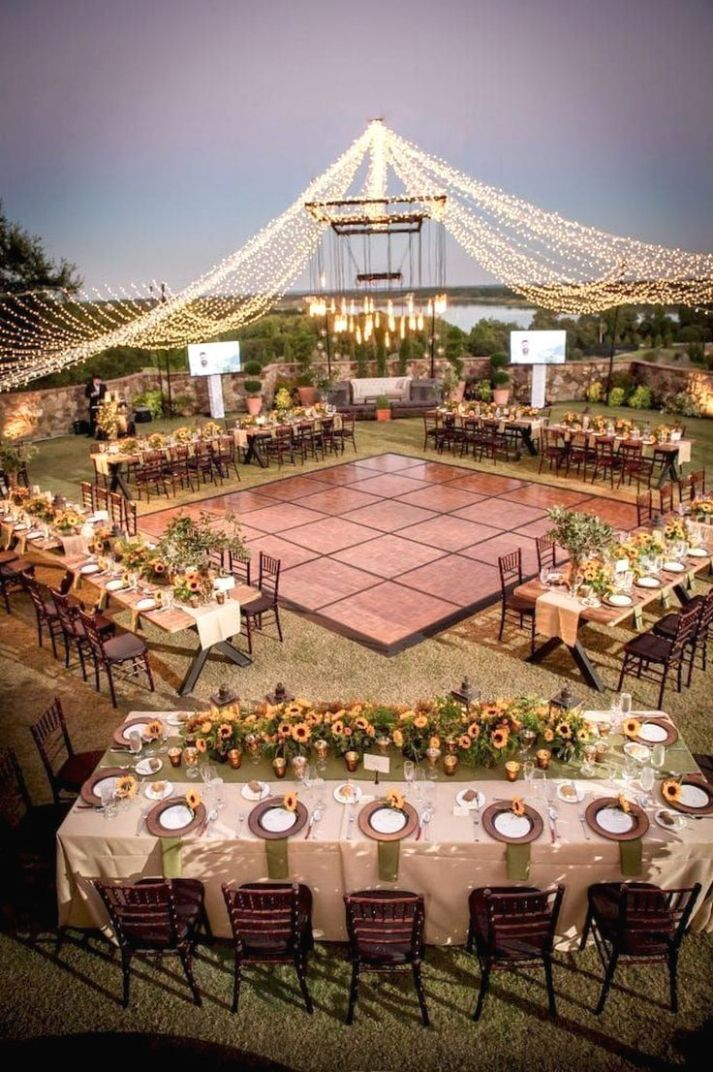 New Outdoor Decoration Ideas #weddingdecoration (With images ..