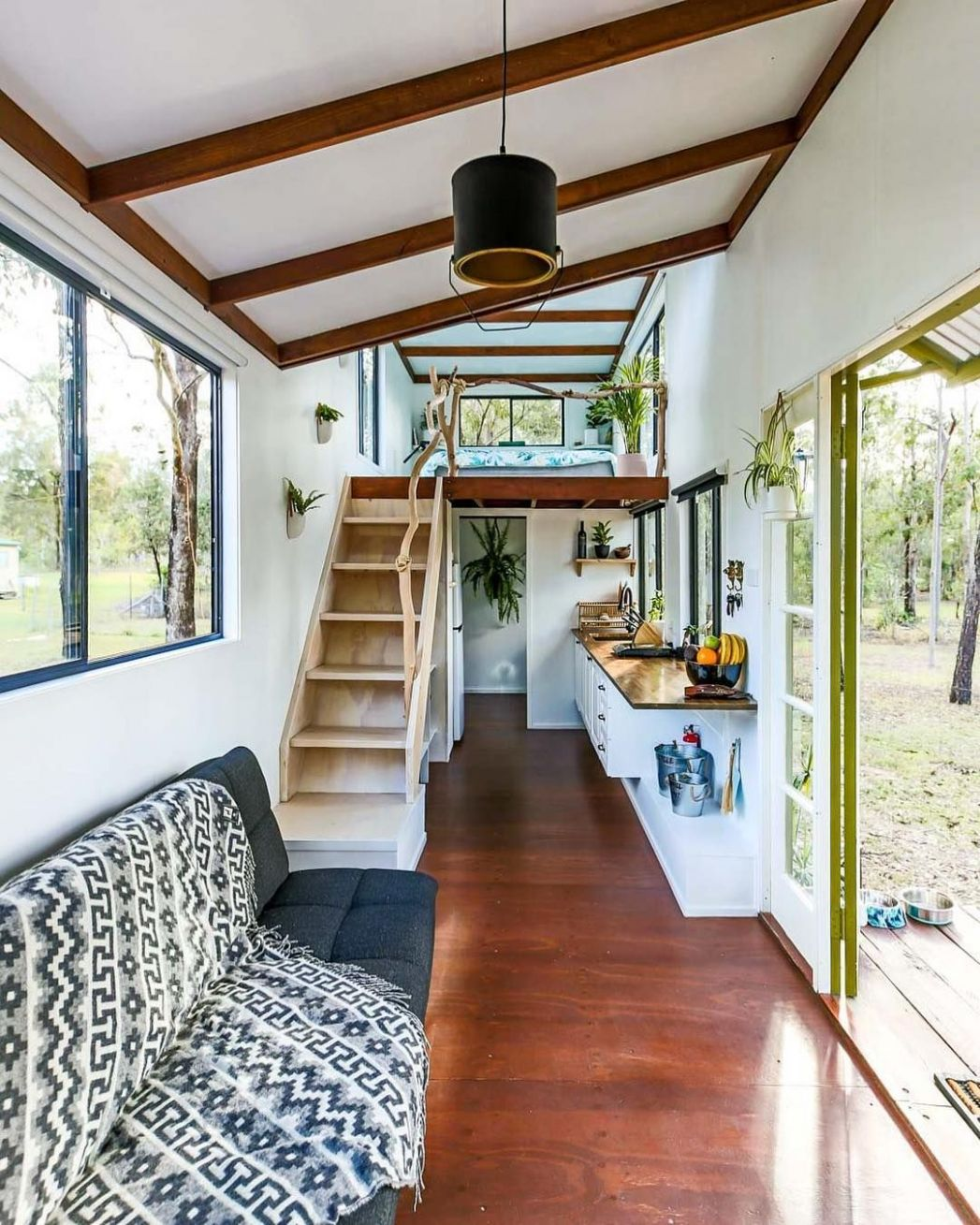 New video live today of this stunning eco tiny house in Australia ..