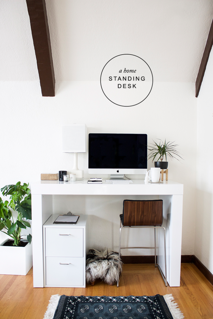New Year New Office (with a Standing Desk (With images) | Home ..