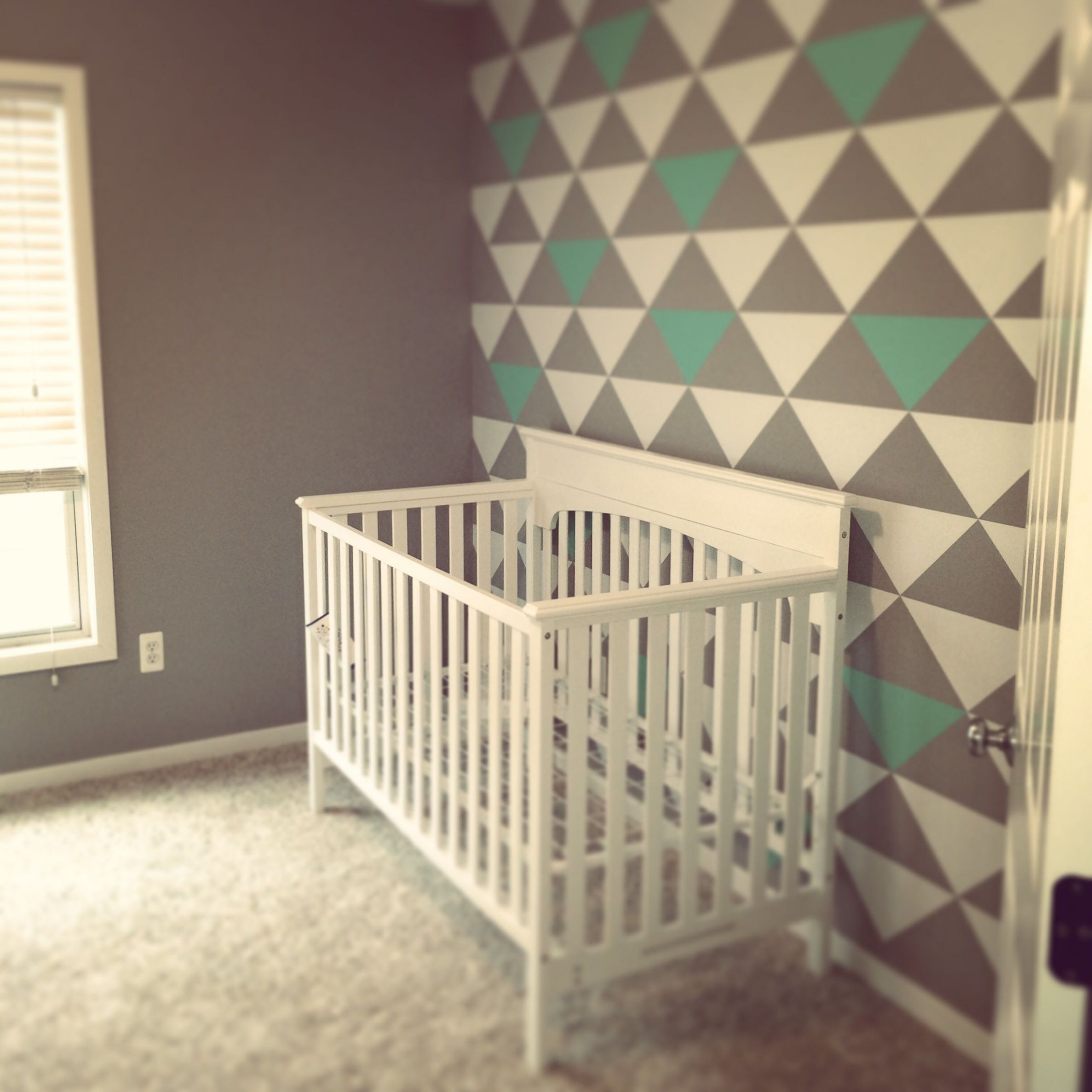 Nursery Accent Wall (With images) | Nursery accent wall, Nursery ..