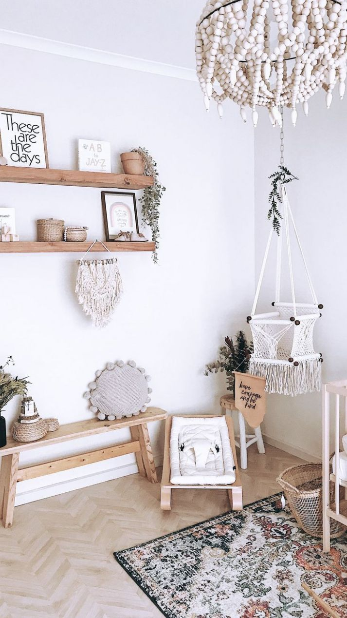 nursery inspo | Boho kids room, Kid room decor, Nursery inspo - baby room inspo