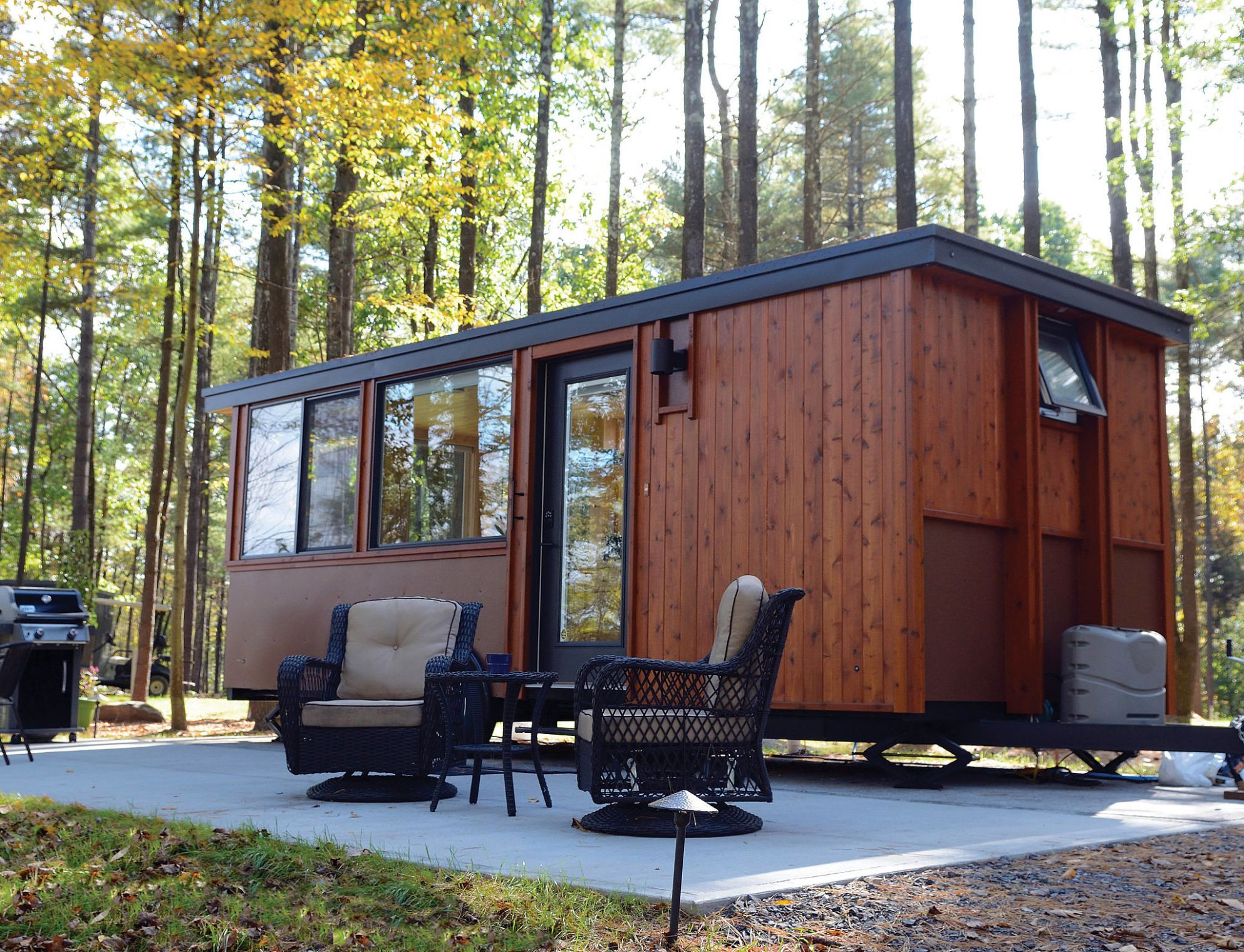 NY Home to First Tiny House Resort of its Kind in the Northeast - tiny house resort