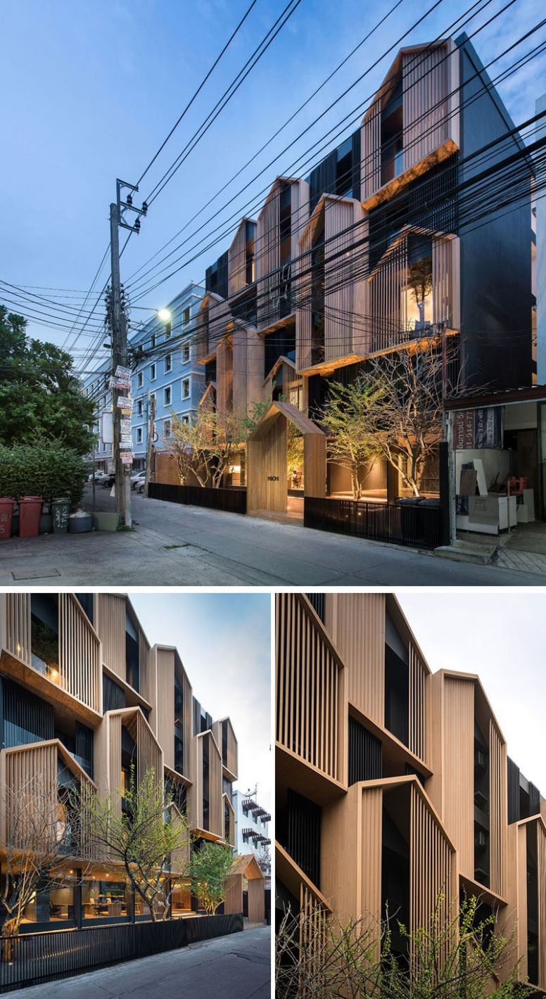 Octane Architect & Design Have Completed A Thai Apartment Building ..