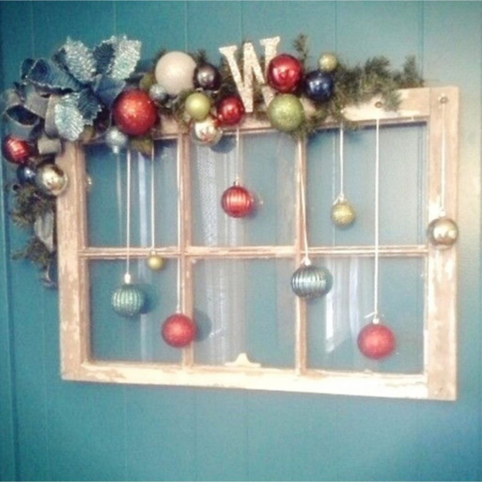 Old Window Frames DIY Ideas and Window Frame Crafts (With images ...