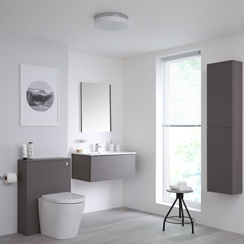 On Trend Grey Bathroom Ideas | BigBathroomShop - bathroom ideas grey tiles