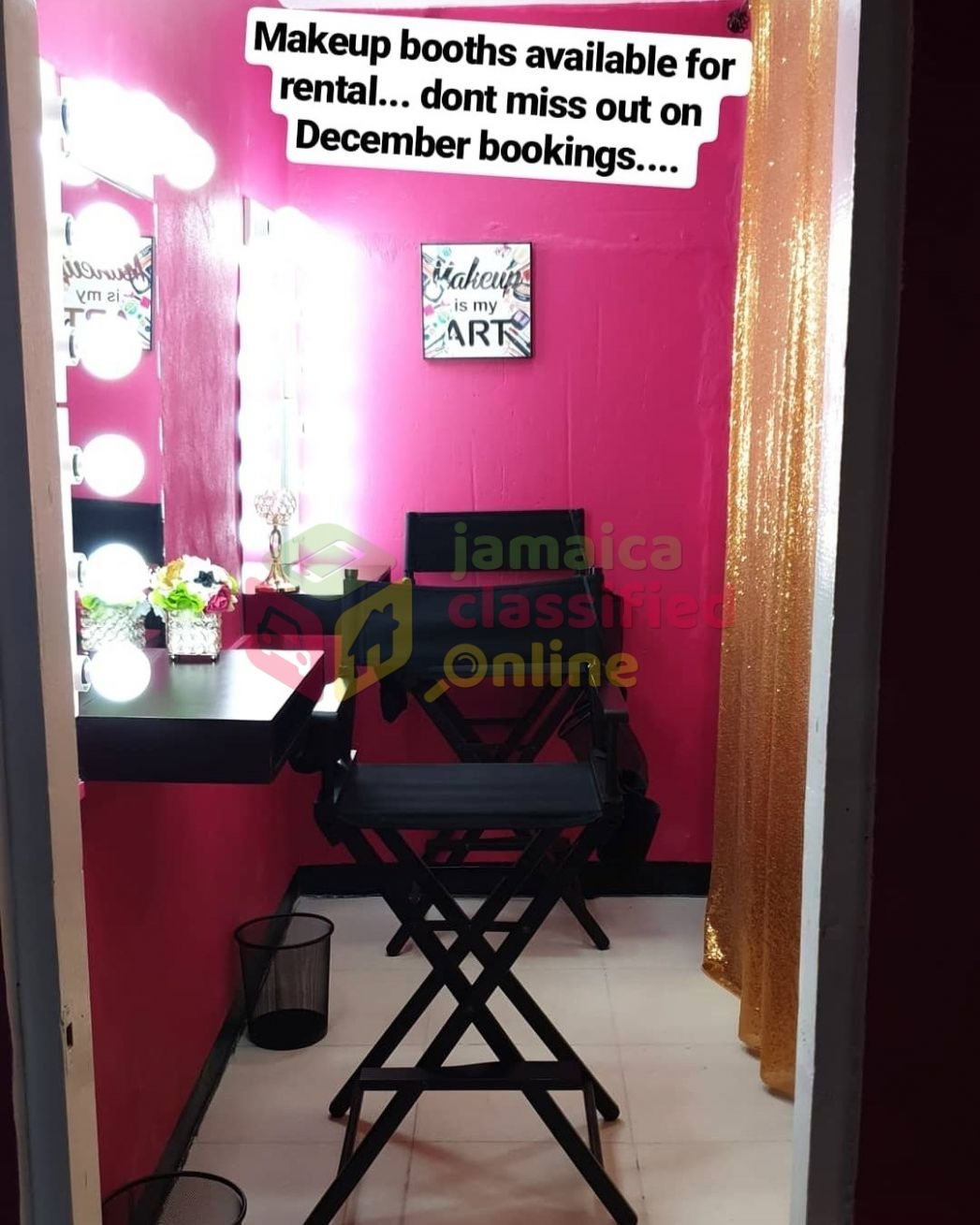 One Makeup Booth And One Lash Room Rental in 10 Hill View Avenue ...