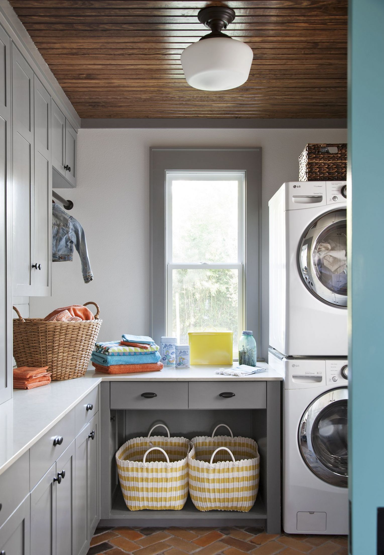 Opening Up a Snug 9 Cottage | Laundry room design, Small ..