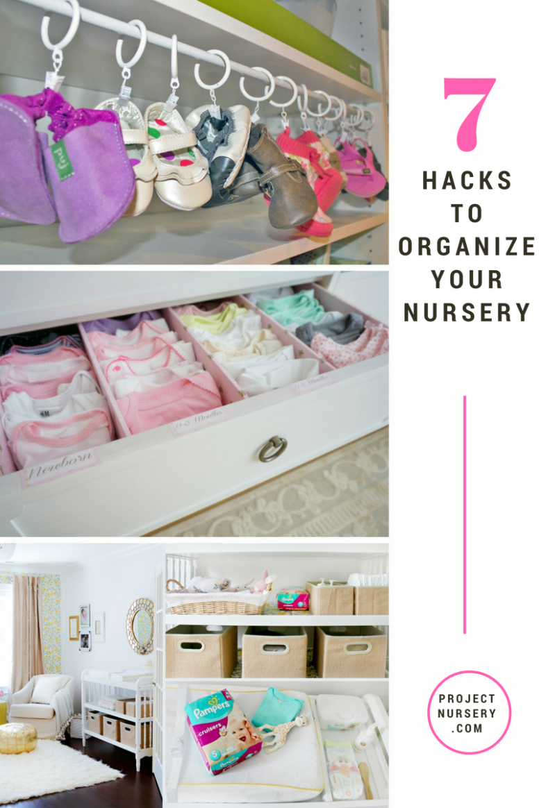 Organize Your Nursery Like a Boss | Baby room organization, Baby ..