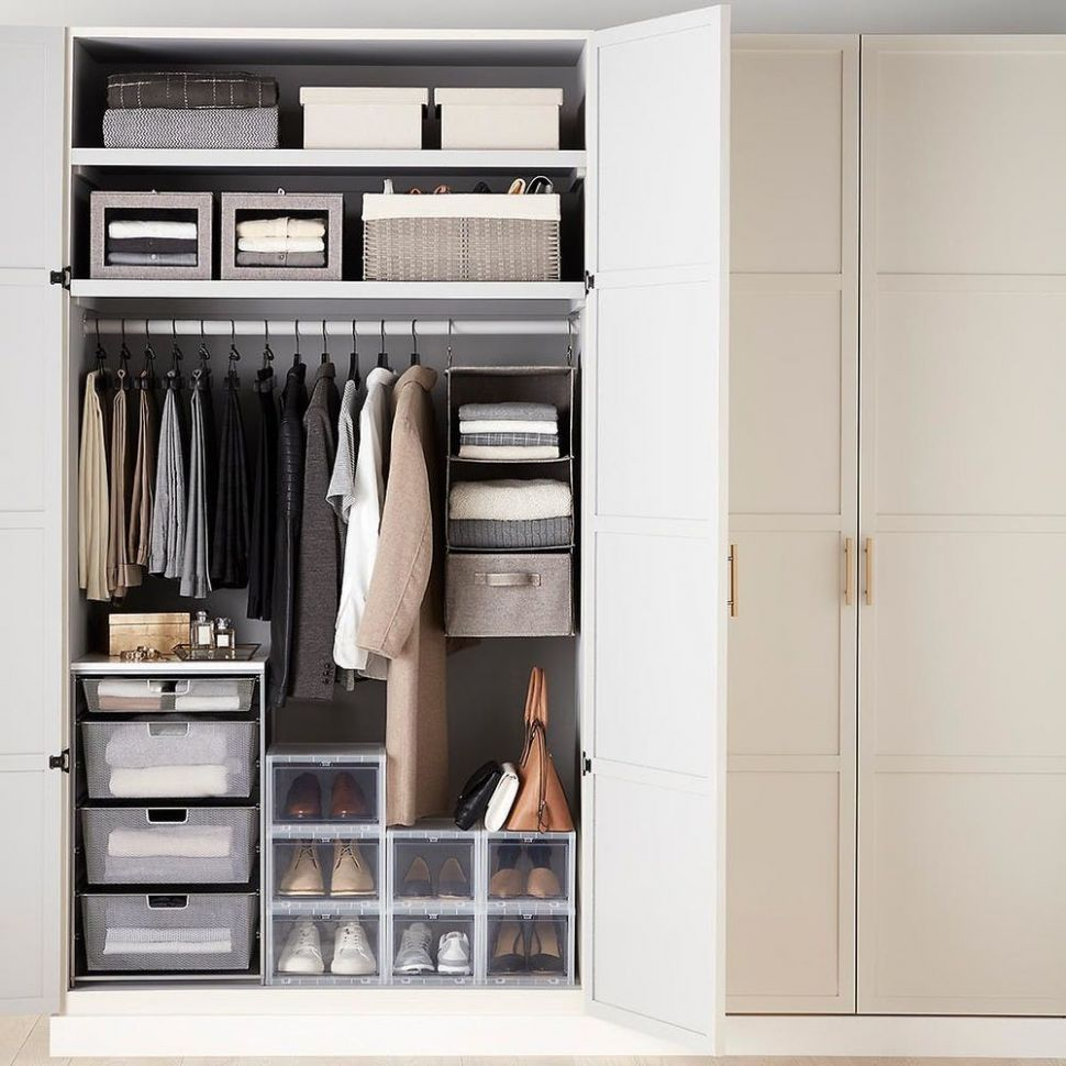 Organizing Your First Apartment: Closet Storage | Container Stories - closet ideas in apartment